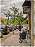 Small Town Sidewalk -  #34 Coffee