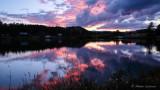 Sunset at Lake Ramona in Red Feathers Lake