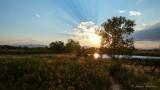 Sunset at Cottonwood Hallow
