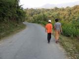 Stroll with pal Viraj