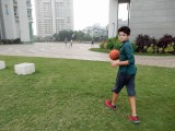 Off to the court