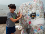 DSCN3573 Rahil and currency elephant art.jpg