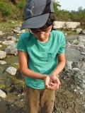 Caught a tadpole!