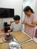 Birthday cake with Nani
