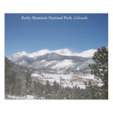 Rocky Mountain National Park blanket