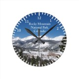 Rocky Mountain National Park clock