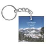 Rocky Mountain National Park acrylic key chain