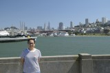 Shinta on Aquatic Park Pier