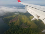 Entering West Papua, signs of logging