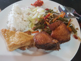 1st meal at homestay