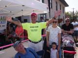 P9040114 Very Brave Guy in Heavily Red Hendersonville, North Carolina