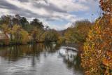DSC01369 Tuckasegee River running through Bryson City, North Carolina