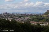 Edinburgh from Craigmillar Castle