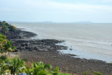 Volcanic coast of Conakry near the Sheraton