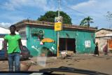 A seemingly abandoned bar, Conakry