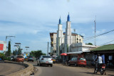 Route into downtown Conakry