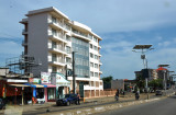 New apartment building, Route de Donka, Conakry