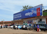 Emirates billboard near the Stade 28 Septembre, Conakry