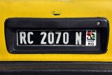 Republic of Guinea license plate