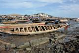 Pirogue harbor, Conakry