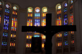 Stained glass windows, Conakry Cathedral