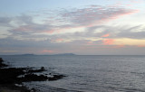Evening with the Iles de Los in the distance