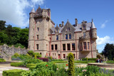 Belfast Castle is built in the Scottish baronial style