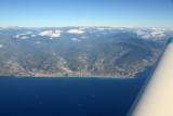 Italian Riviera from Ventimiglia, Vallecrosia