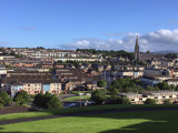 View north from the city walls, Londonderry