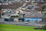 View of the Catholic Bogside district from the city walls