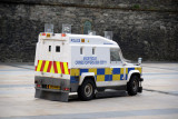Armored van of the Northern Ireland Police