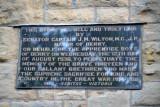 Plaque - Apprentice Boys of Derry, 12 August 1936
