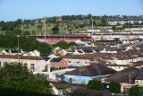 Bogside and Celtic Park from the Royal Bastion