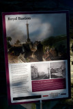 The pillar of the Royal Bastion was destroyed by the IRA in 1973