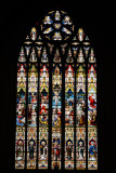 Stained Glass, St. Eugene's Cathedral