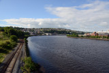 River Foyle from the Peace Bridge