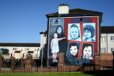 The Derry Murals seem to change occasionally