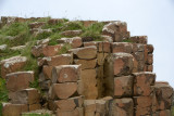 The Giant's Causeway consists of around 40,000 basalt columns from an ancient volcanic eruption