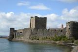Carrickfergus Castle, built by the Norman John de Courcy in 1177