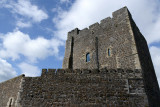 Carrickfergus Castle maintained a military role until 1928