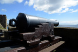 Heavy Cannon, 19th C., Middle Ward, Carrickfergus Castle