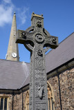 Celtic cross, St. Nicholas Church, Carrickfergus