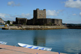 Carrickfergus Castle from the harbor