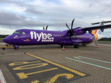 Flybe ATR72-500 (G-ISLI) operated by BlueIslands