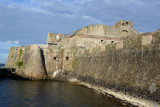 The north curtain wall dates from 1570
