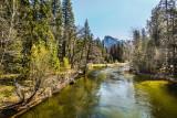 Yosemite - View from the Sentinel Bridge