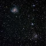 NGC_6946 et NGC 6939