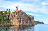 * 25.41 - Split Rock Lighthouse:  Closer View, From Lake