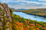* 90.52 - UP Michigan: Lake Of The Clouds, Autumn