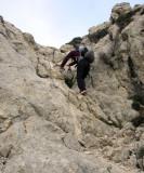 Day 1 Some via ferrata on the descent
